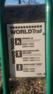 World Trail Cooldown Directions
