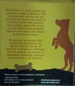 Wet Noses Dog Treats